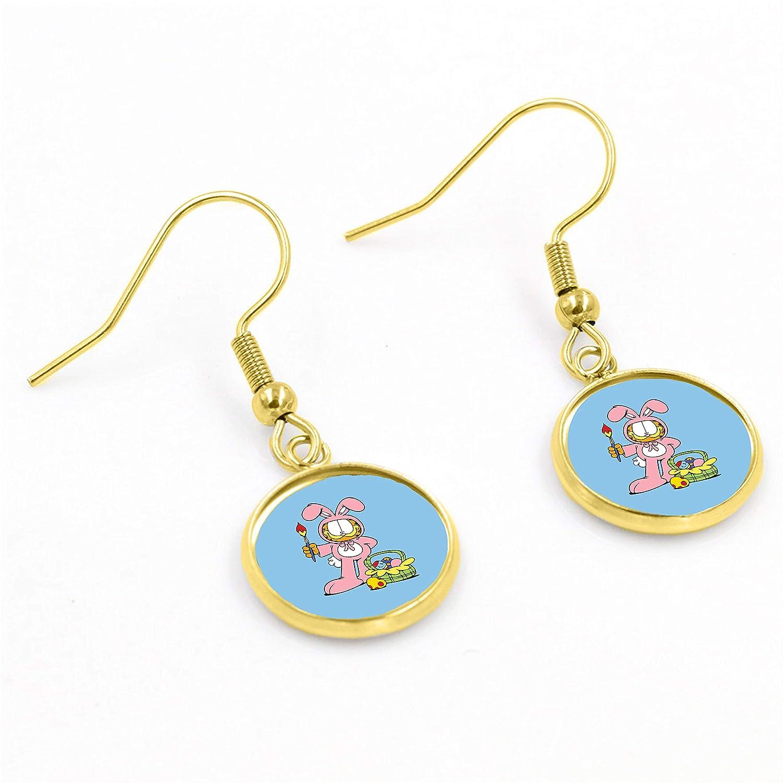 Garfield Easter Earrings