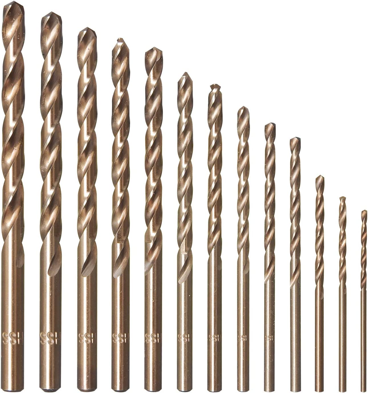 High Speed Steel Hand Pin Vise Tools Wood Durable Punching Drill Bit Twisted for Aluminum Plastics Most Drilling Jobs
