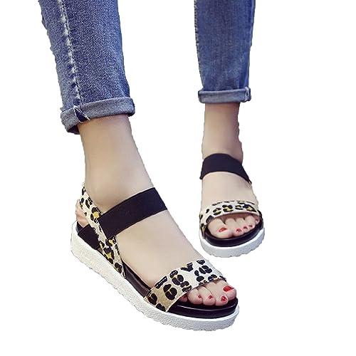 e25e4f81510 Women Sandals 2018 Summer Slip On Shoes Peep-Toe Flat Shoes Roman Mujer  Ladies Flip