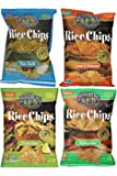 Lundberg Rice Chips Made with Organic Grains Variety Pack of 4 Flavors