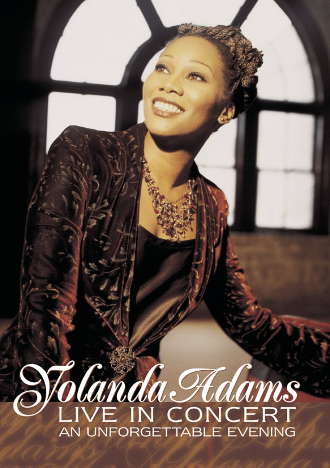 Yolanda Adams Live in Concert - An Unforgettable Evening by BMG VIDEO