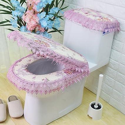 Toilet Seat Covers Amazon.Amazon Com Wayer Toilet Cushion Luxury Toilet Seat Cover 3