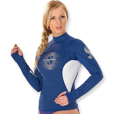 collezione 2017 Shell Rash Guard a maniche lunghe da donna Slim Fit maglietta Scubapro