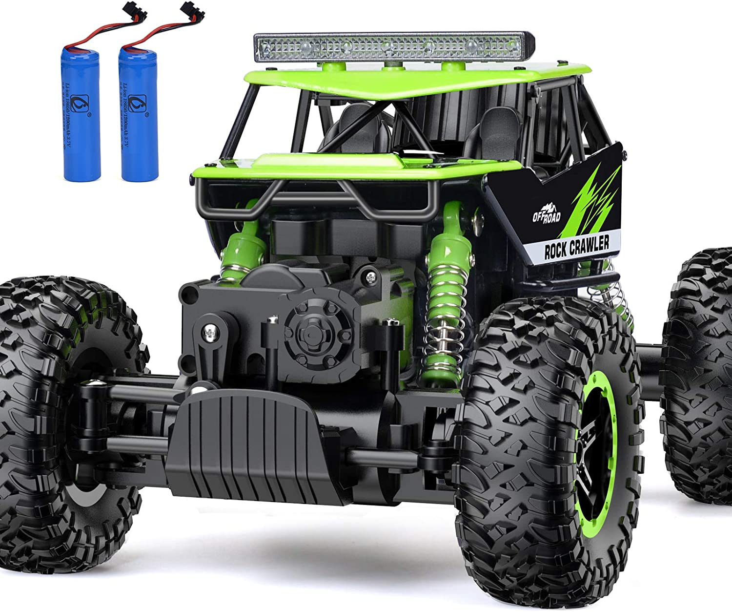 Rc Car Nqd Remote Control Monster Truck 2 4ghz 4wd Off Road Rock Crawler Vehicle 1 16 All Terrain Rechargeable Electric Toy For Boys Girls Gifts Toys Games Amazon Com