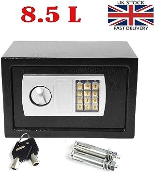Caja de Seguridad con Teclado Digital electrónico de Acero con ...