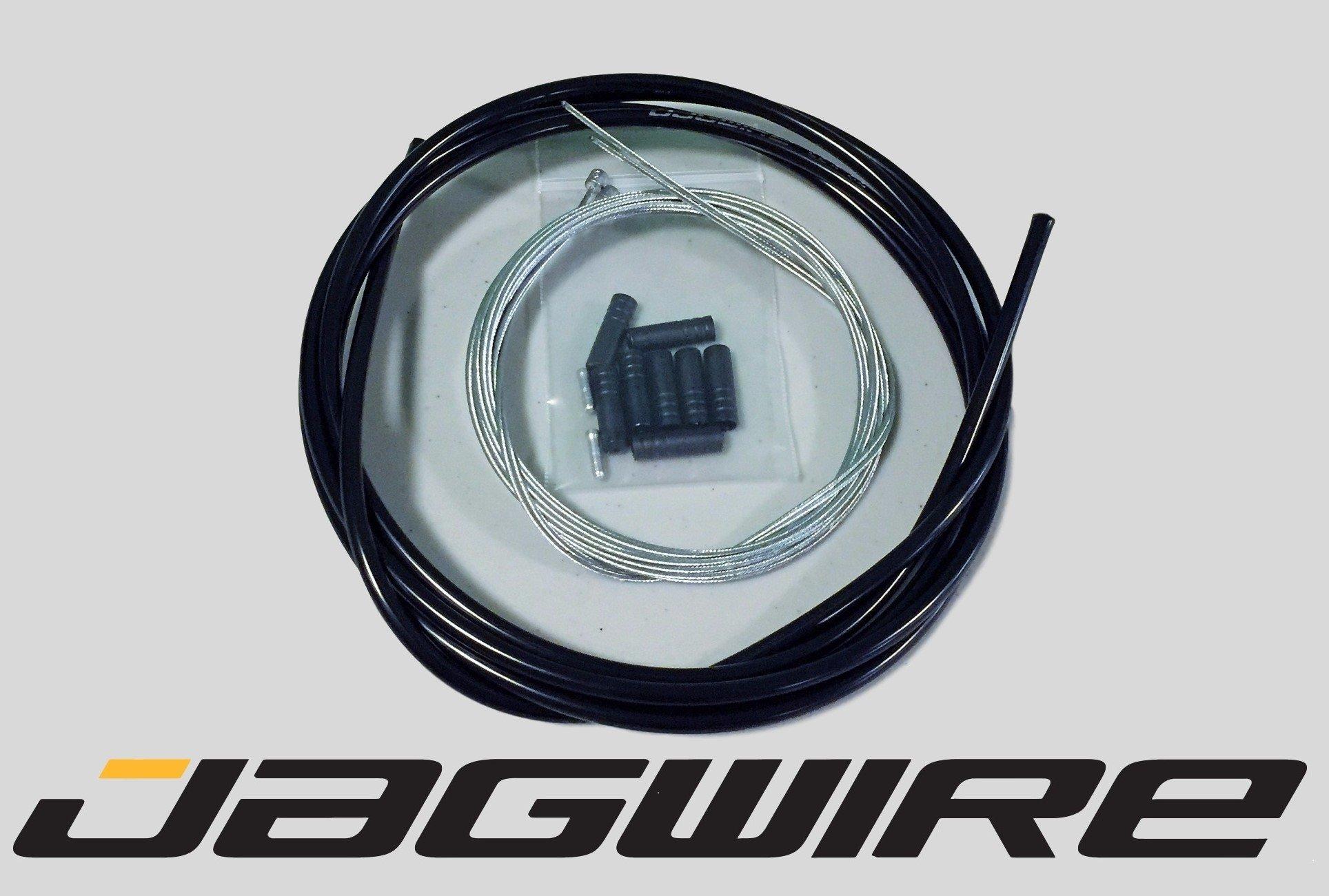 JAGWIRE ROAD Shop Kit - Shifter / Derailleur Cable & Housing Kit - SRAM/Shimano