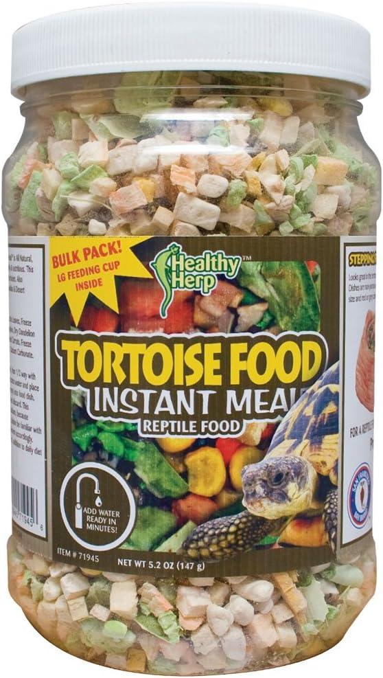 Healthy Herp Tortoise Food Instant Meal 3.5-Ounce (100 Grams) Jar