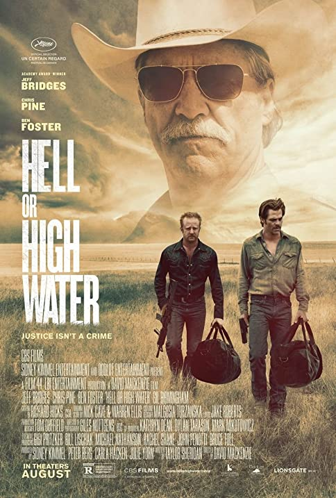 Amazon Hell Or High Water Movie Poster 18 X 28 Posters