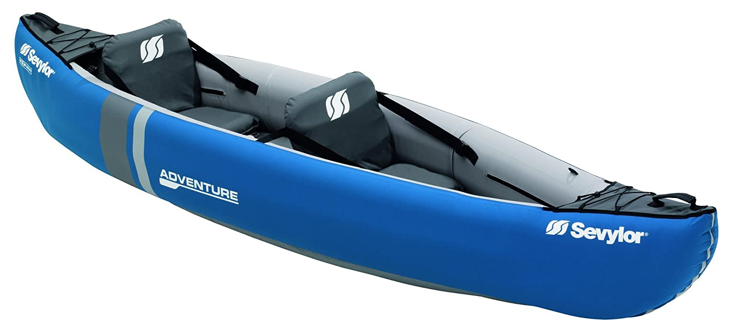 Sevylor Adventure Kayak Hinchable Canoa (2 P), Unisex, Azul, 314 x ...