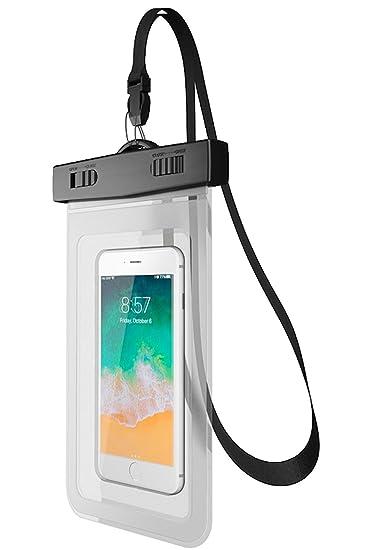 7b53bbc5c88 Canotagio Funda Impermeable de iPhone a Prueba de Agua. Color Transparente.  Bolsa Impermeable / Funda / Protector Contra ...