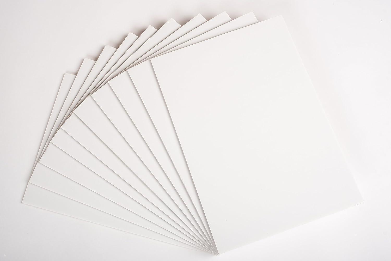 Prodotto nazione A3White Foam Board 5mm 10fogli–Photo Mount Board–wedding Signs (297x 420mm) Product Nation FBWHTA3