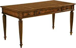 Hekman Furniture Table Desk in Urban Ash Burl Finish - 7-9108