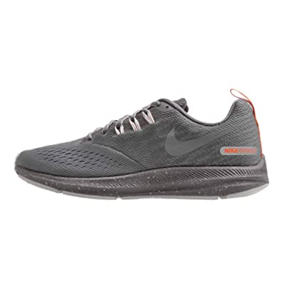 Image Unavailable. Image not available for. Color  Nike Women s Air Zoom  Winflo 4 Shield Running Shoe Cool Grey Metallic ... fe57f0dfa