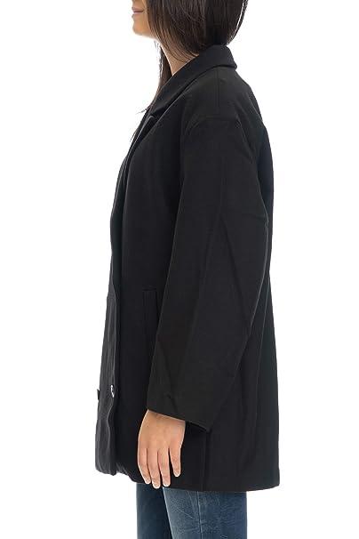 fc29deec2b Cheap Monday Cappotto Corto Donna Nero: Amazon.it: Abbigliamento