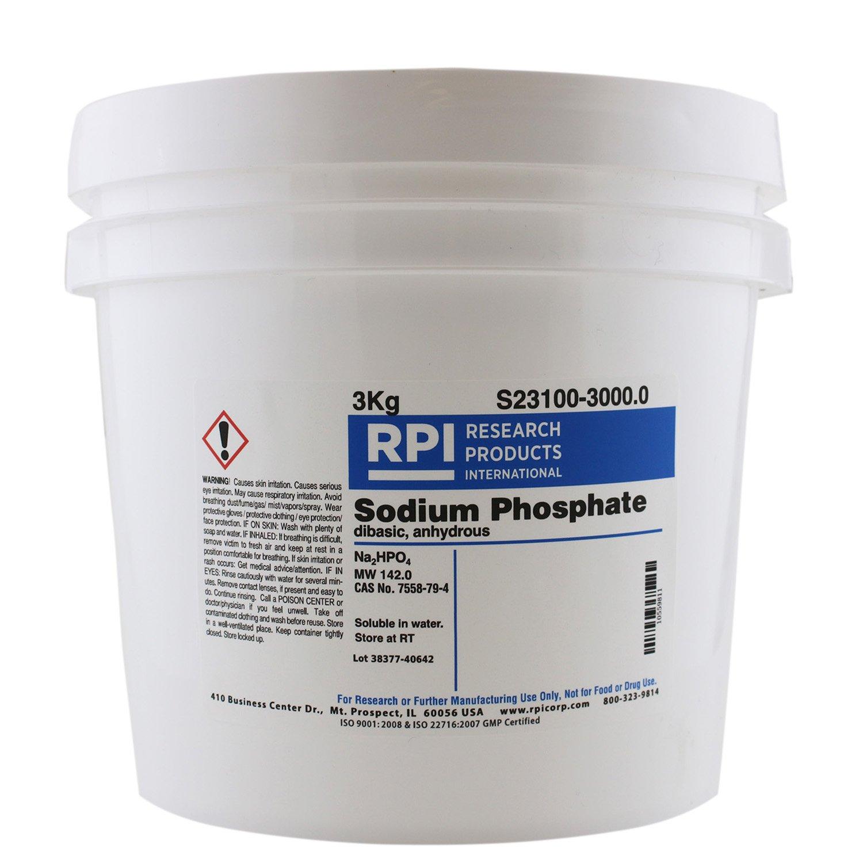 Sodium Phosphate Dibasic, Anhydrous, 3 Kilograms