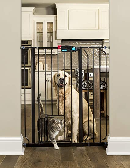 Helpful Carlson Extra Tall Metal Expandable Pet Gate Safety Gates