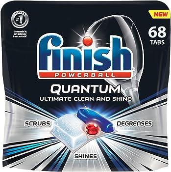 68-Count Finish Quantum 68ct Dishwasher Detergent Tabs