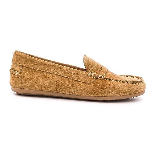 Boni Classic Shoes Mocasines de Piel Vuelta Unisex Niños: Amazon.es: Zapatos y complementos