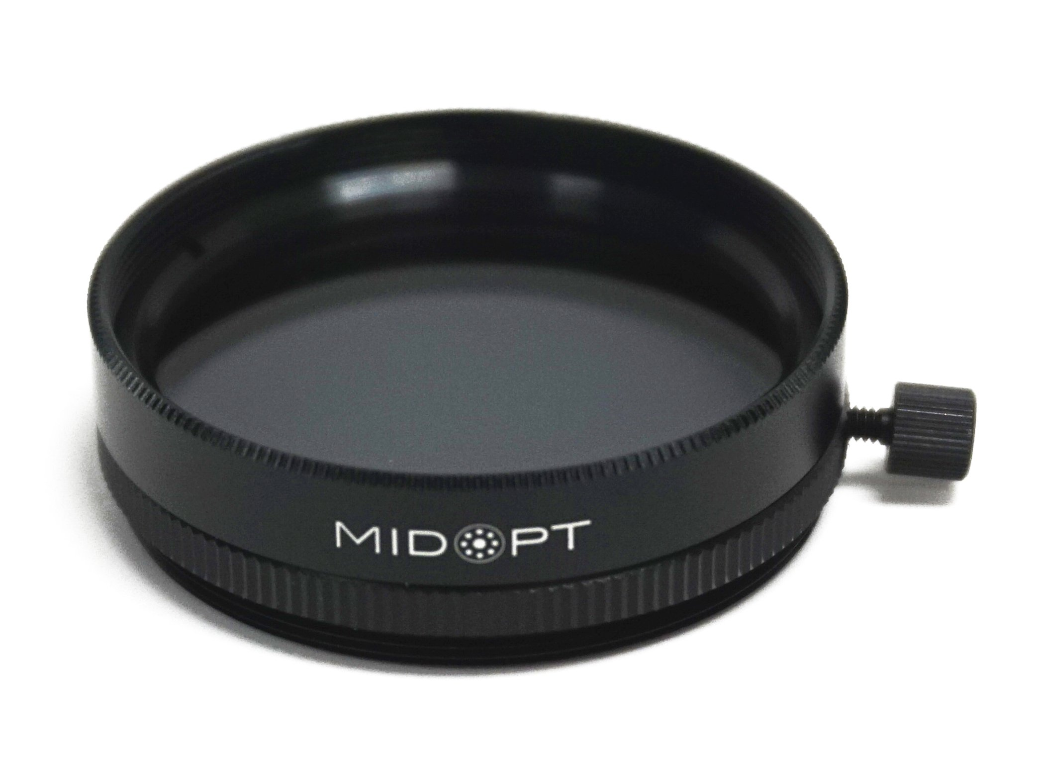 MidOpt Linear Polarizer for Machine Vision, Polarizing Filter, Glare Reduction, PR032-30.5, Fits M30.5 Lens Filter Thread