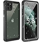 Temdan New Designed iPhone 11 Pro Waterproof Case, Built in Screen Protector Clear Sound Quality Full Sealed Cover…