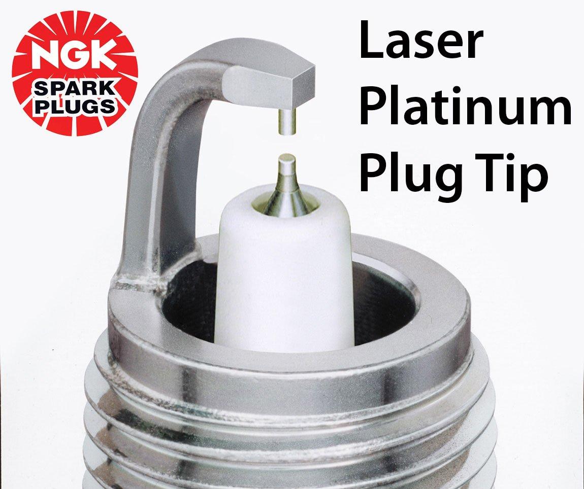 5055 PTR5A-10 FOCUS MK1 ZETEC 2.0 16V 10//98-04//05 NGK Laser Platinum Spark Plugs x4