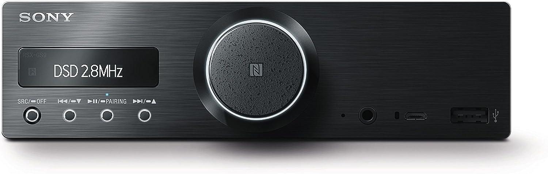 Sony Rsx Gs9 High Resolution Multi Media Player Bluetooth Nfc Usb Aux Rds Tuner Oled Display Gebüstetes Aluminum Black Navigation Car Hifi