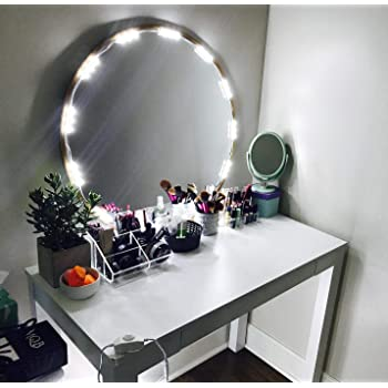 Amazon Com Penson Lighted Mirror Led Light For Cosmetic