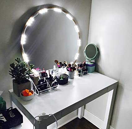 Amazon Com Penson Lighted Mirror Led Light For Cosmetic Makeup