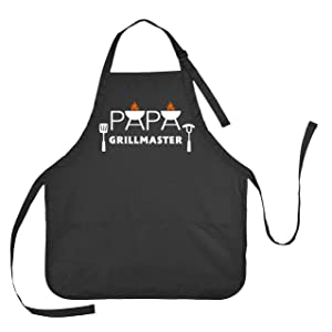 Apron for Papa, Grillmaster Apron, Father's Day Apron, Apron Gift for Papa, Papa Grillmaster Apron