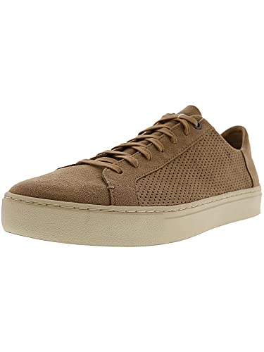 9e65f87ee0c TOMS Men s Lenox Toffee Perforated Synthetic Suede 7 D US D ...