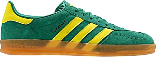 adidas gazelle yellow green
