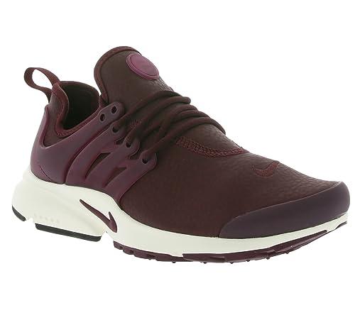 Nike Women s Air Presto PRM NightMaroon 878071-600 (Size  10 ... 908e01829