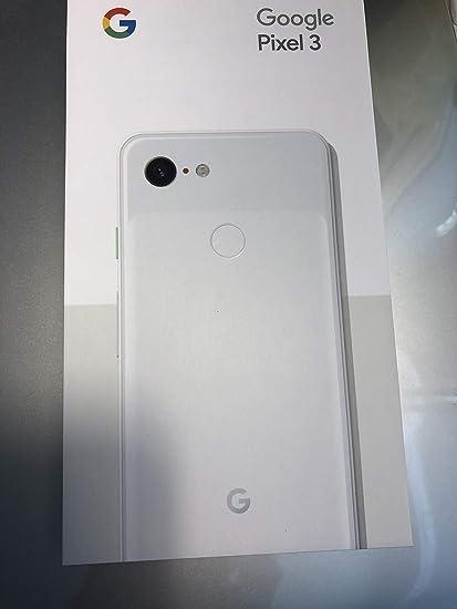 Google Pixel 3 - Factory Unlocked, White, 64GB (Renewed)