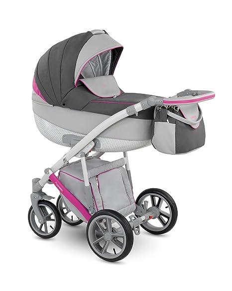 Cochecito para bebés de la marca Lux4Kids. 3 en 1, para su