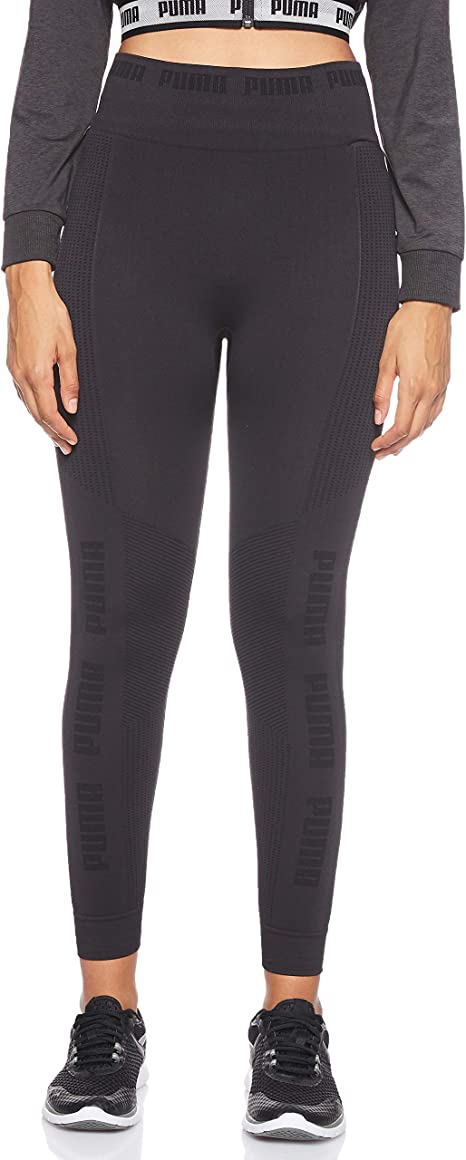 PUMA Evoknit Seamless Leggings Mallas Deporte, Mujer: Amazon.es ...