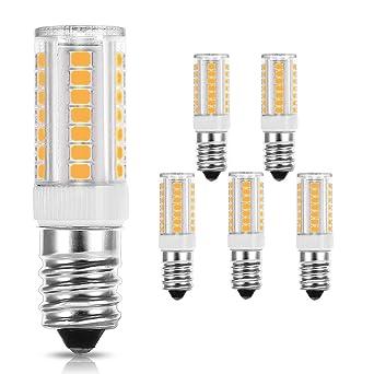 LOHAS® bombillas LED E14 5W(50W), Blanco cálido 3000k,Paquete de