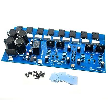Amazon com: High Power 400W + 400W Amplifier Board w