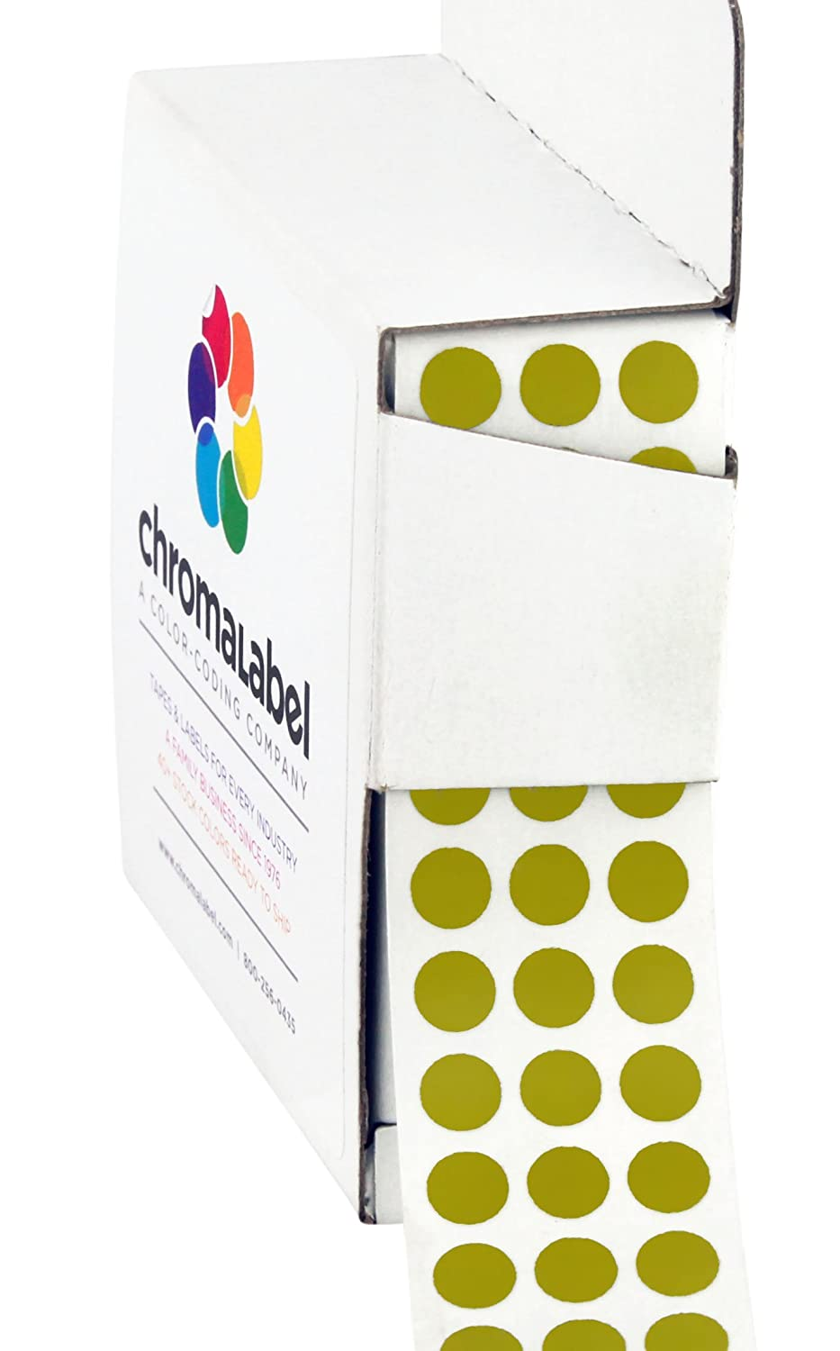 Olive Color Code Amazon.com : ChromaLabel 1-4 inch Color-Code Dot Labels | 1, 000-Dispenser  Box (Olive) : Office Products