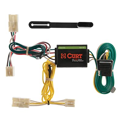 CURT 55307 Vehicle-Side Custom 4-Pin Trailer Wiring Harness for Select Toyota RAV4: Automotive