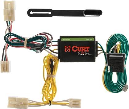Amazon.com: CURT 55307 Vehicle-Side Custom 4-Pin Trailer Wiring Harness for  Select Toyota RAV4: AutomotiveAmazon.com