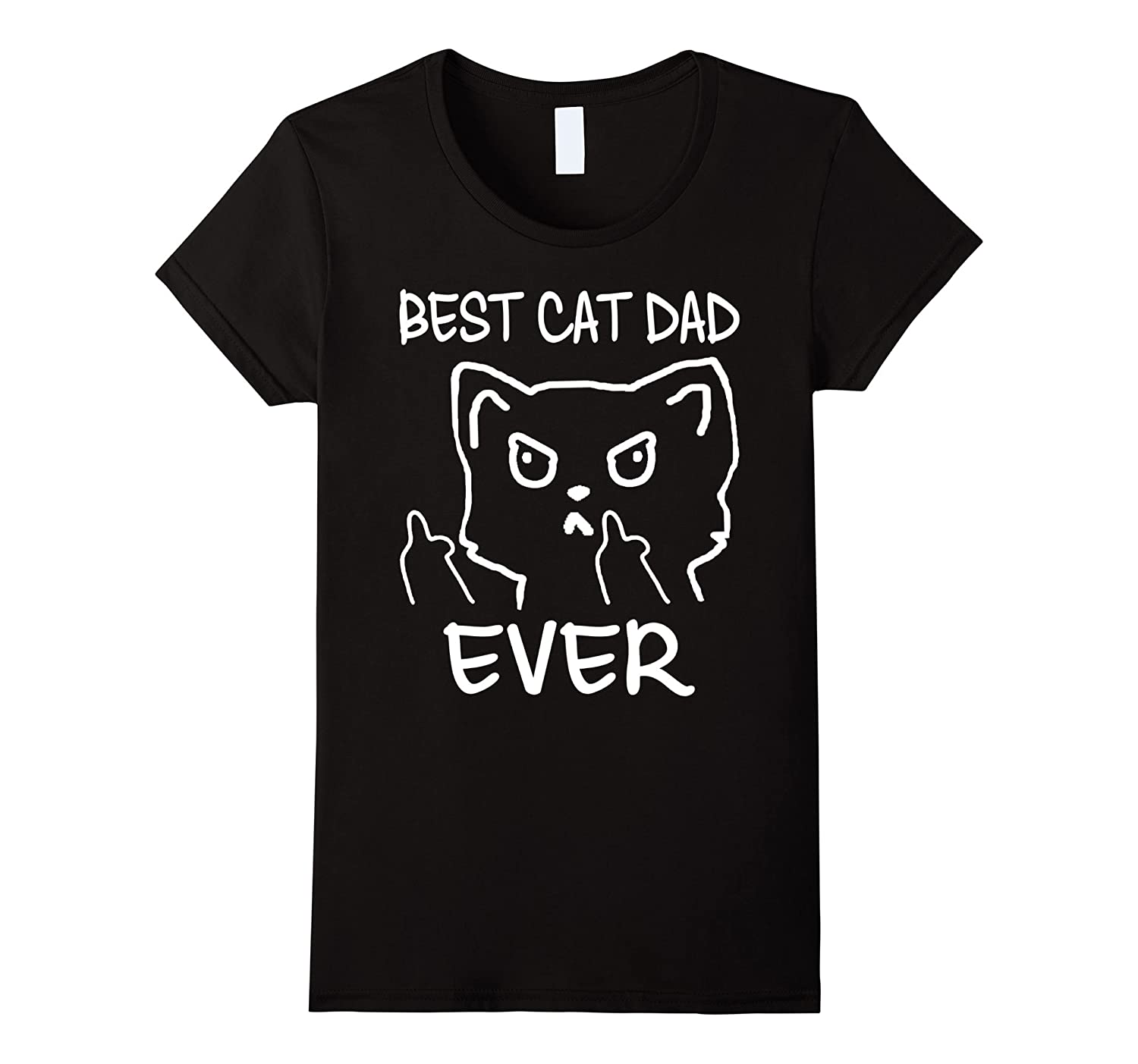 Funny Cat Gifts Best Cat Dad Ever Shirt for fathers day-Yolotee