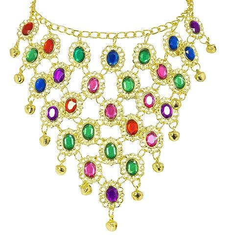 rencontrer 279bd 64476 Andrea-Moden Collier avec Bijoux colorés Orient Bollywood ...
