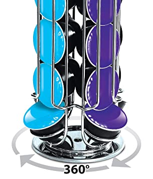 EVER RICH ® Dolce Gusto 24//35 Coffee POD Rotating Holder Rack D/&G Tower 35