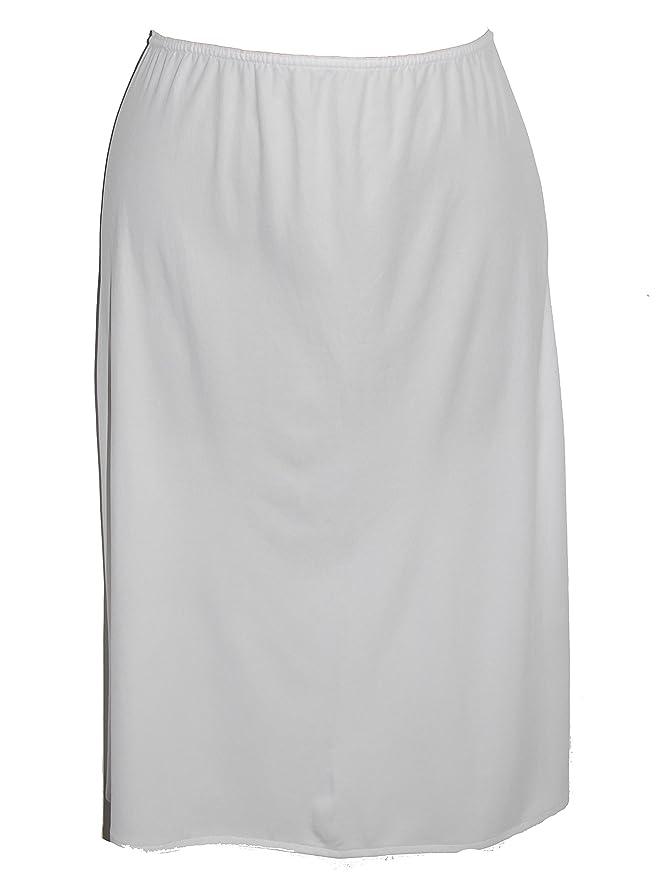 Ex-Store Plain Polyester Rear Slit Waist Slip
