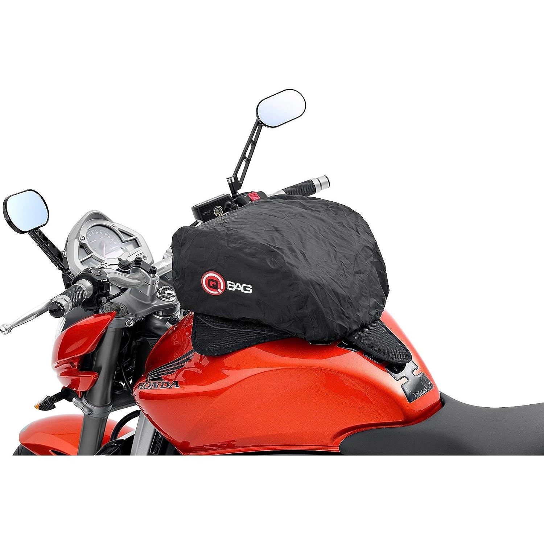 QBag 08/Sacoche aimant/é /à Placer sur r/éservoir de Moto Noir