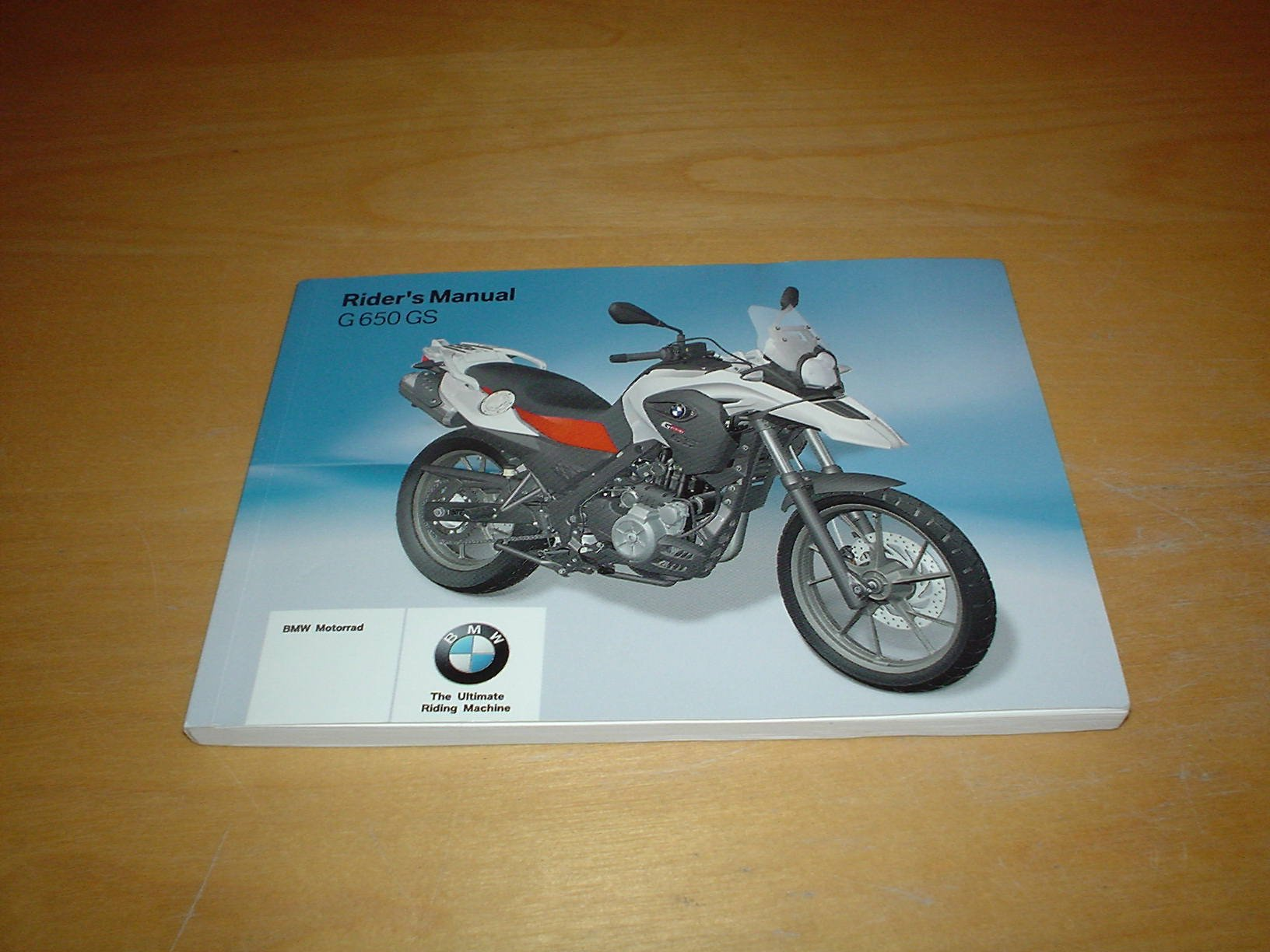 BMW G650 GS MOTORCYCLE OWNERS HANDBOOK MANUAL Not Haynes G 650 GS 650GS  G650GS: Amazon.co.uk: BMW: Books