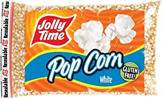 product image for Jolly Time Gluten Free Non GMO White Popcorn (Pack of 6) 2 Pound Bags