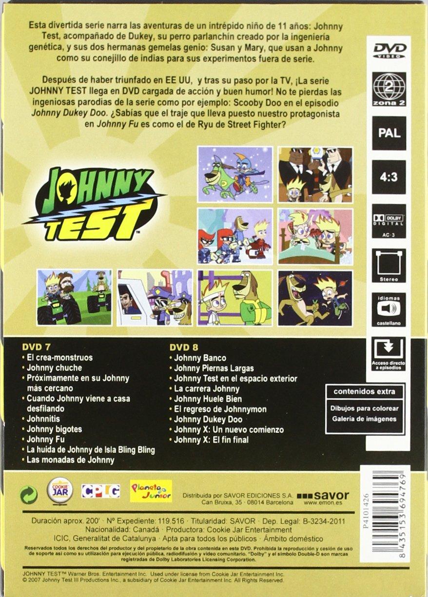 Amazon.com: Johnny Test 4 (2dvd) [DVD] (2011) Varios: Movies ...