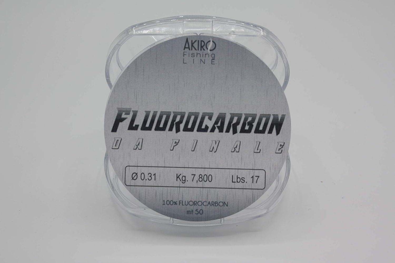 Filo 100/% Fluorocarbon Pesca Finali Terminali Surfcasting Roubaisienne Bolentino