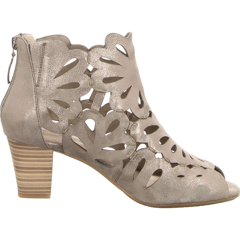 NEU silber // grau GERRY WEBER Schuhe Stiefelette Lotta 17 G13017-828605 schilf